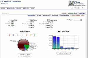 screen shot of on-screen report